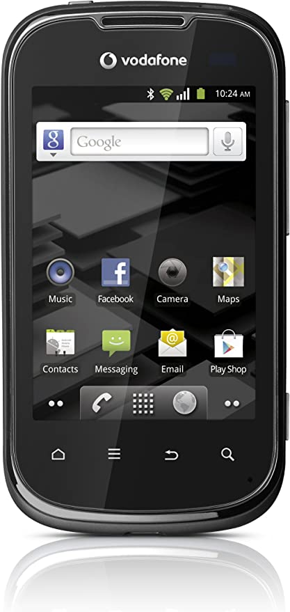 Vodafone Smart II - Smartphone Android de tarjeta, color gris ...