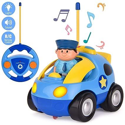 Amazon Com Filwo Radio Control Car Remote Control Car Music Light