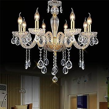 ZYY&LIGHT® Moderno Vela Cristal Lámparas Moda Iluminación ...