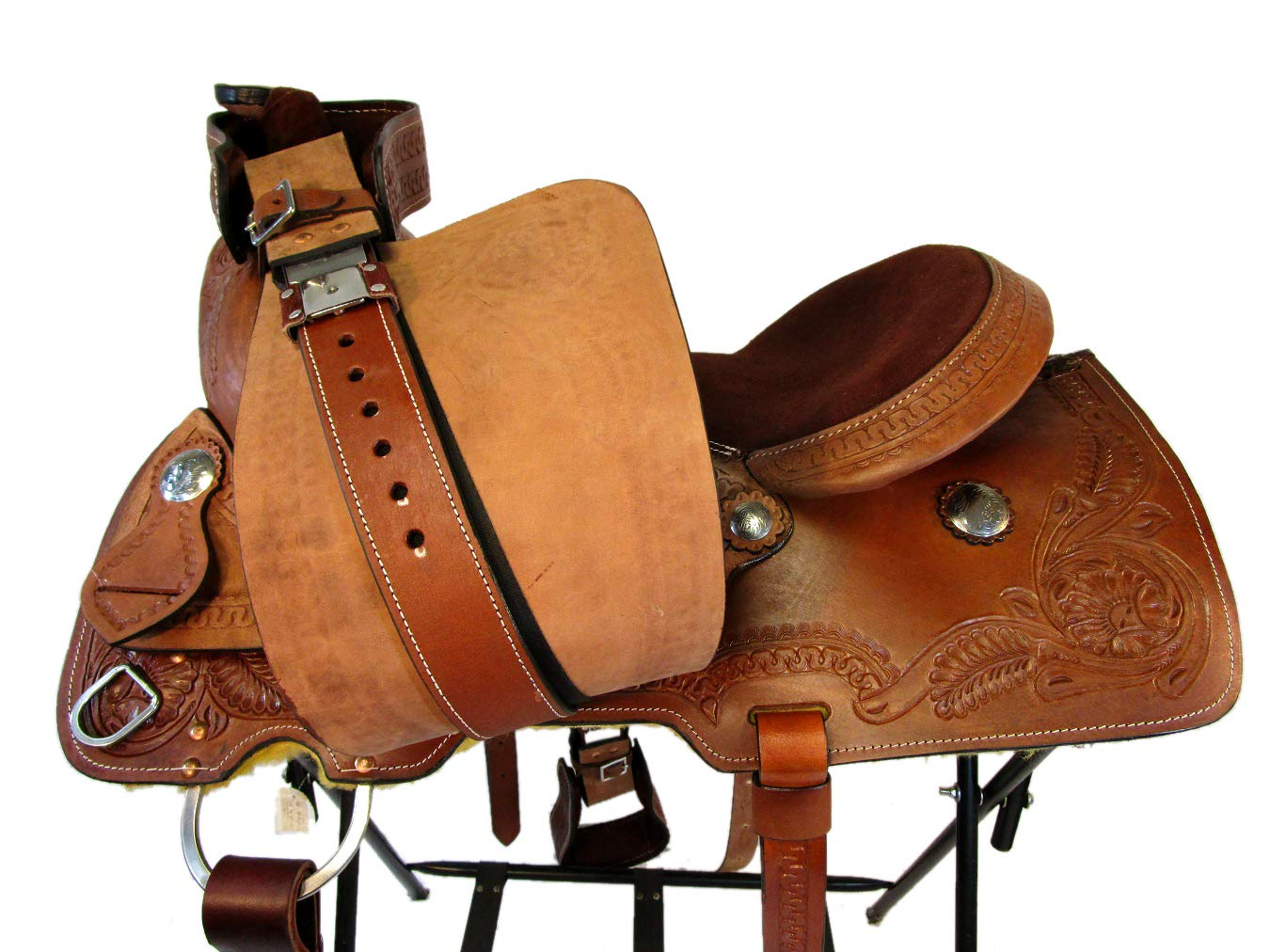 Amazon.com : Orlov Hill Leather Co 15 16 17 Brown Roper ...