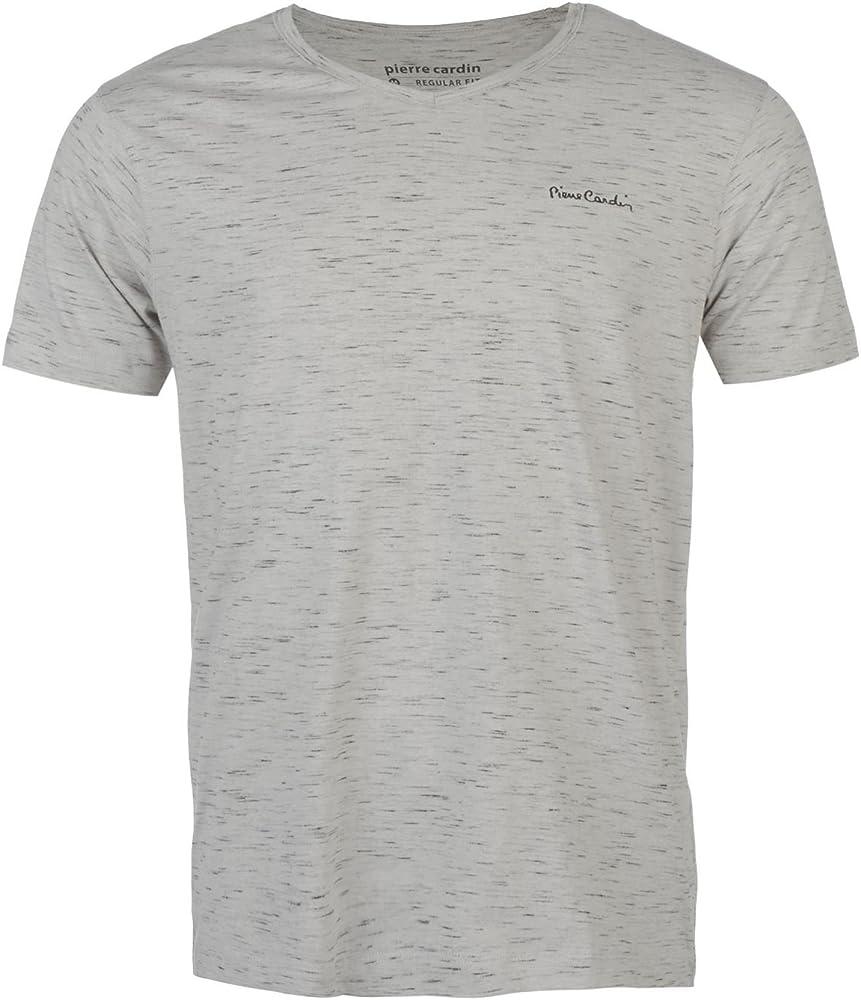 PIERRE CARDI - Camiseta - para hombre gris Small: Amazon.es: Ropa y accesorios