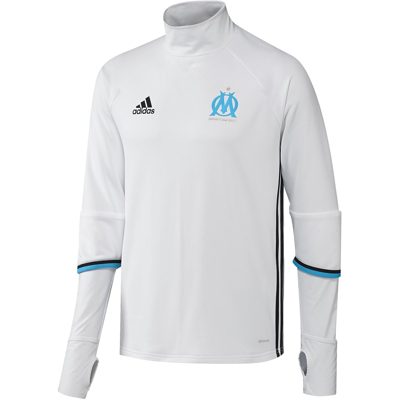 Adidas Herren Fußballshirt Olympique Marseille Trainingsoberteil