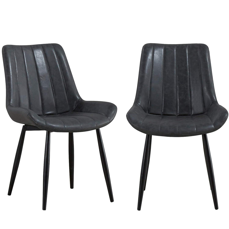 Amazon.com - Kitchen Chairs Set of 2, JULYFOX Dinning Chairs ...