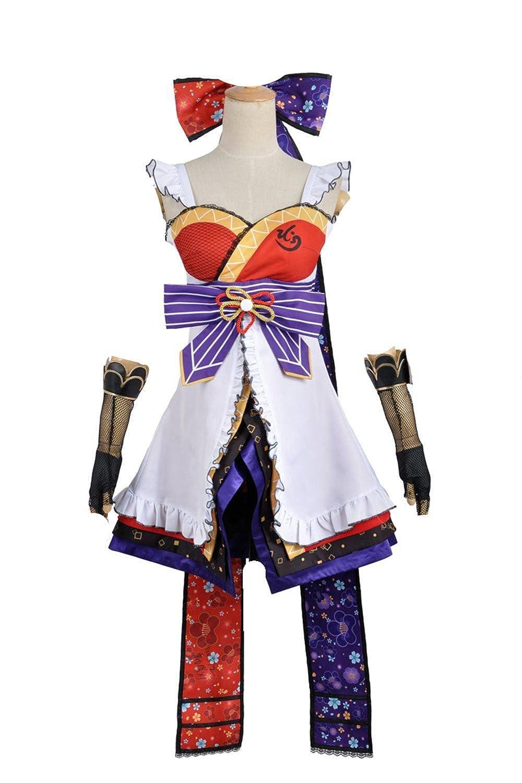 Amazon.com: Love Live Ayase Eli Ninja Shinobi Cos Awakening ...