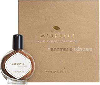 product image for Annmarie Skin Care Mocha Shade Minerals - Multi-Purpose Powder Foundation with Mica + Iron Oxide (10.5 Grams)