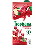 Tropicana Cranberry Delight Fruit Juice, 1000ml