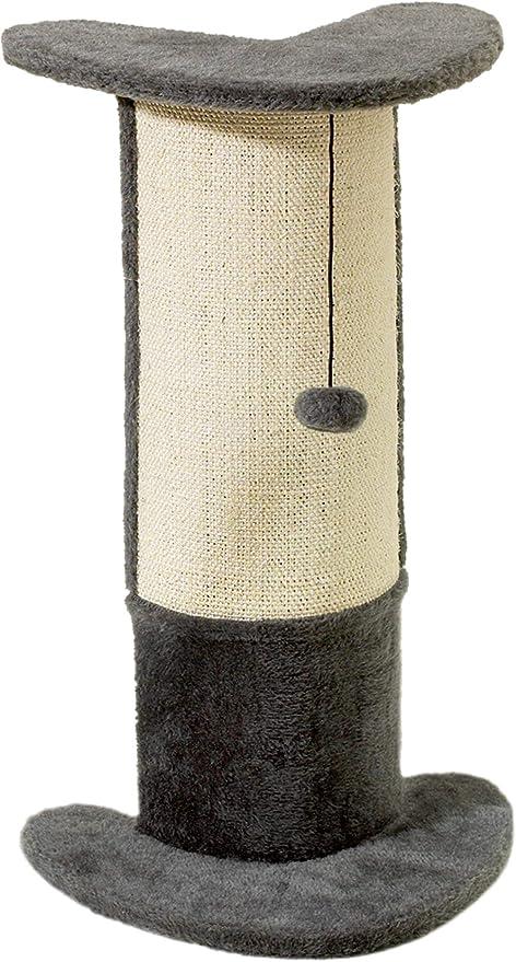 Karlie rascador para gato esquinero tronco, Beige, 37 x 27 x 72 cm