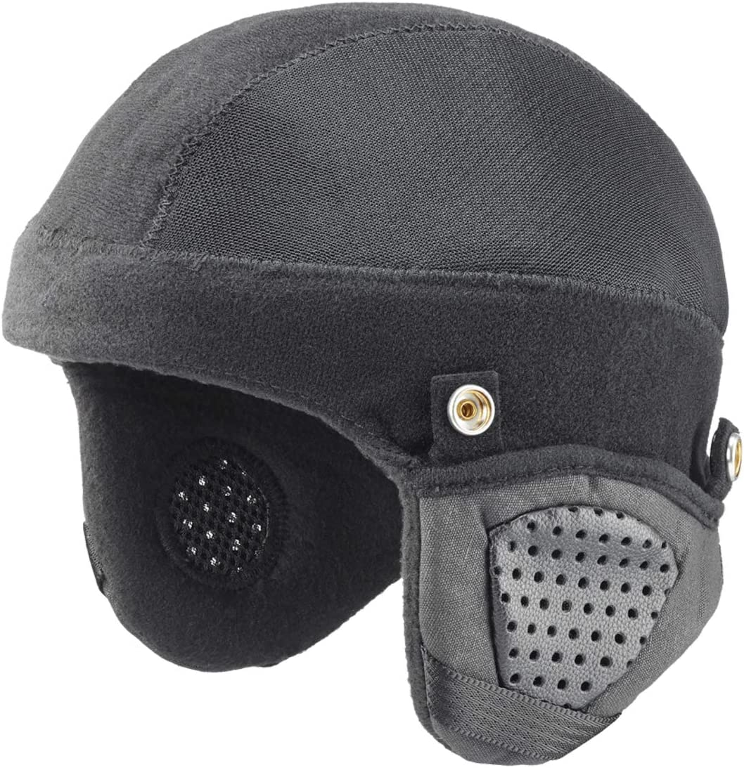 Bern Thin Shell Cold Weather Liner w/BOA Adjustable (Black) – Medium Zubehör Fahrradhelm Herren, Schwarz