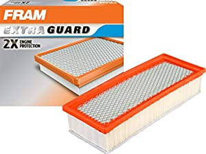 FRAM Extra Guard Air Filter, CA10522 for Select Audi Vehicles