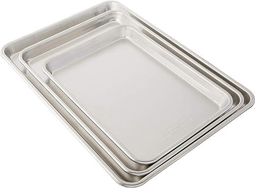 Nordic Ware 3 Piece Baker's Delight Set Aluminum
