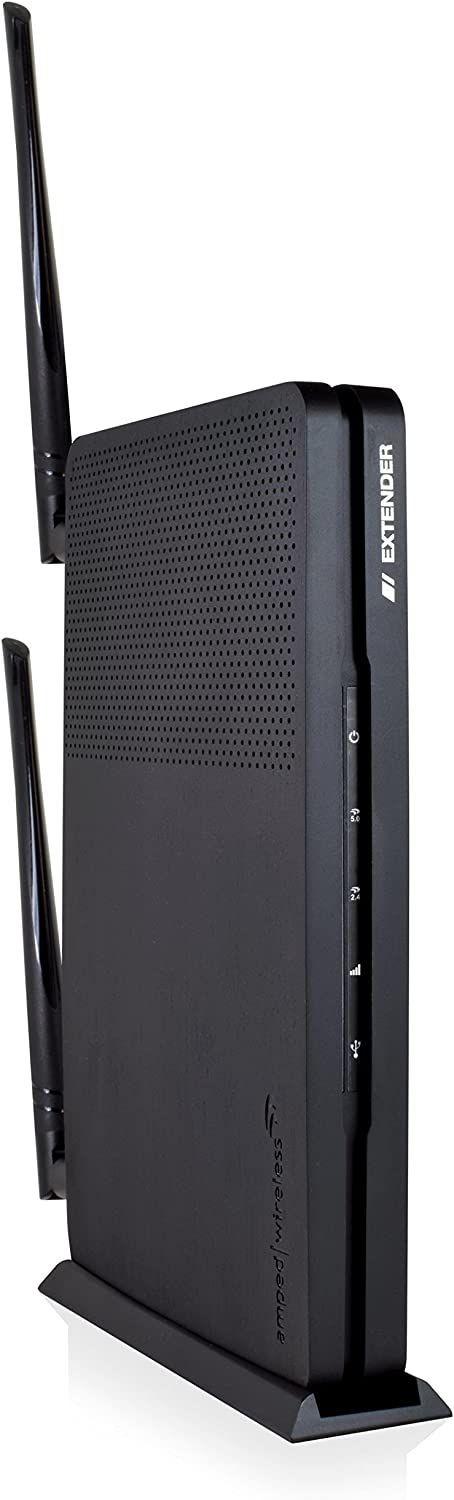 Amped RE1300M Wireless Artemis-EX, High Power AC1300 Wi-Fi Range Extender with MU-MIMO