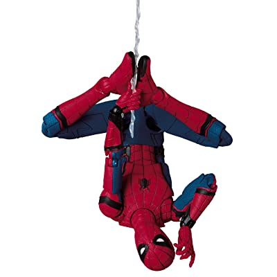Medicom MAFEX Spider-Man (Homecoming Ver.) ABS&ATBC-PVC Action Figure: Toys & Games