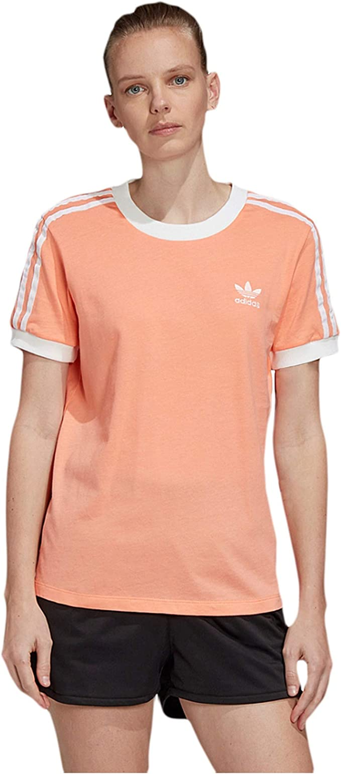 Authentic Adidas Women/'s Tee Crew Neck Short Sleeves T-Shirts