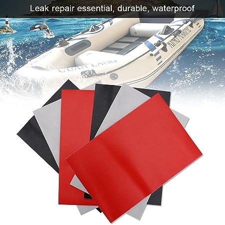 2 Barca Riparazione Toppa PVC Toppe Set Accessorio Per Barca Gonfiabile Kayak