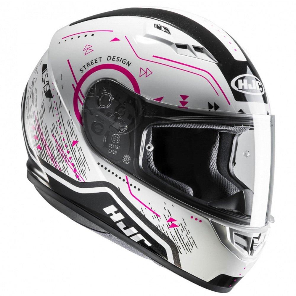 HJC Pink CS-15 Safa Motorcycle Helmet 8804269229163