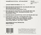 Bach: Brandenburg Concerti Nos. 4-6 & Orchestral
