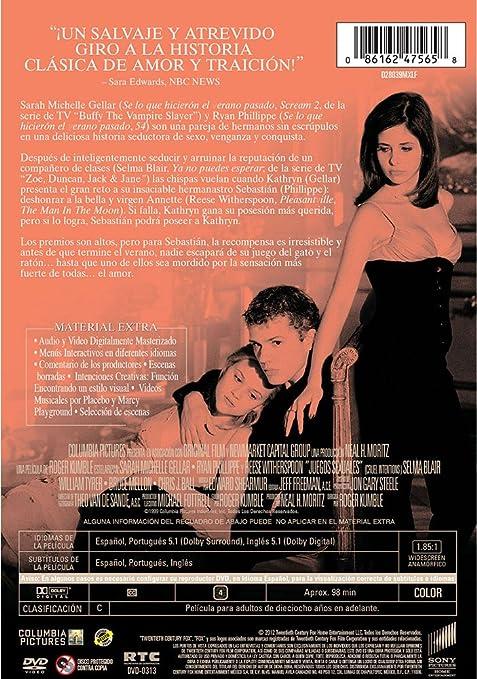 Amazon.com: JUEGOS SEXUALES [CRUEL INTENTIONS] [NTSC/Region 4 dvd. Import - Latin America].: Movies & TV