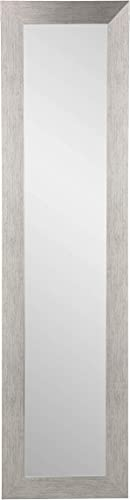BrandtWorks AZBM4THIN-L3 Wall Mirror, 21.5 x 55, Silver