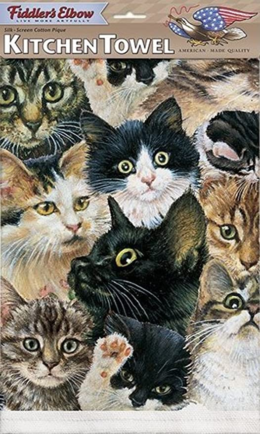 Amantes de los gatos. Cocina, Bar harina saco toallas (1)