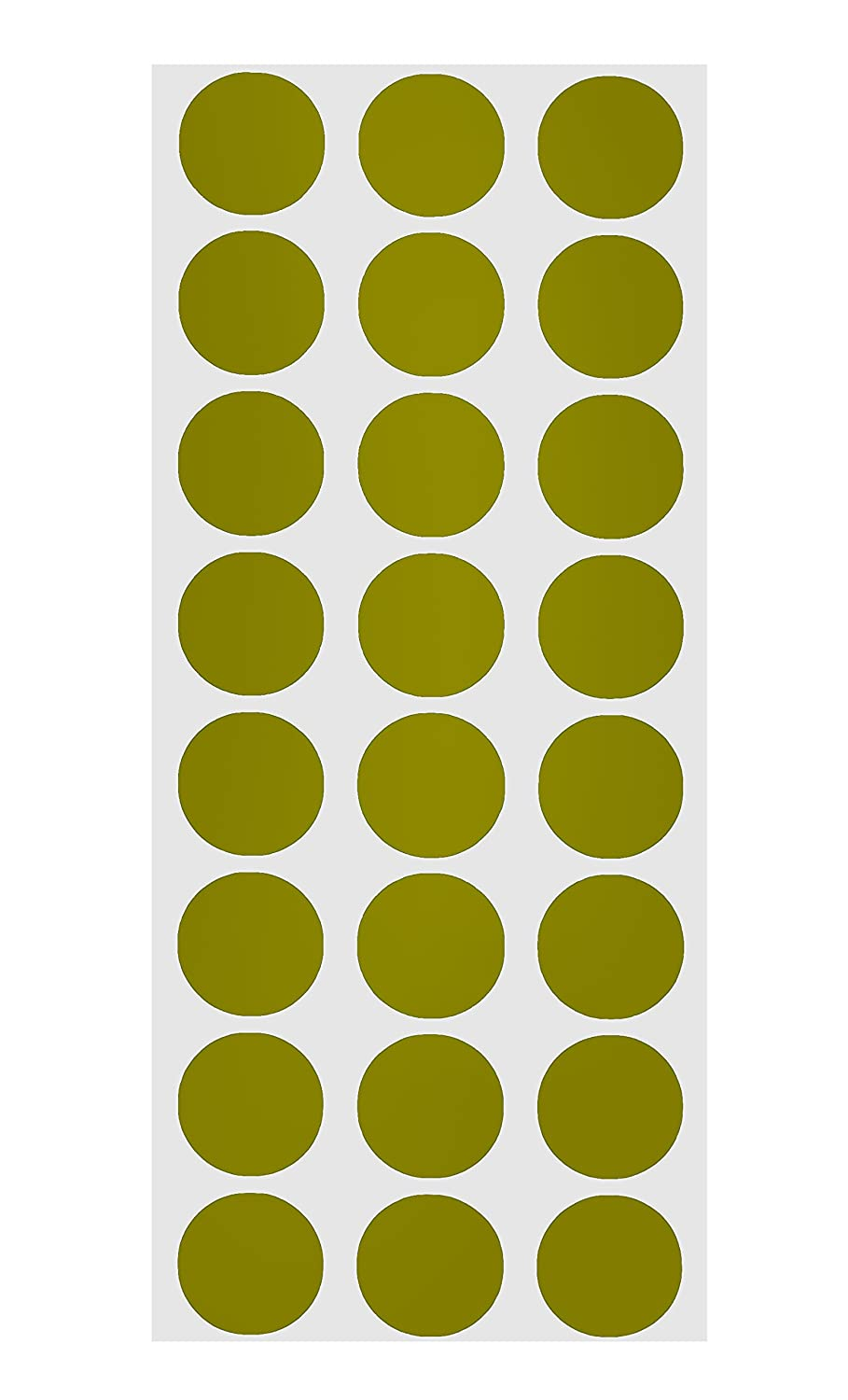 Olive Color Code Amazon.com : ChromaLabel 1-2 inch Color-Code Dot Labels on Sheets | 1,  200-Pack (Olive) : Office Products