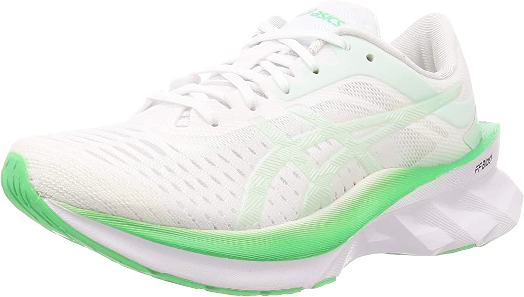 Asics 1012a661-100, Zapatos para Correr para Mujer, Blanc Vert ...
