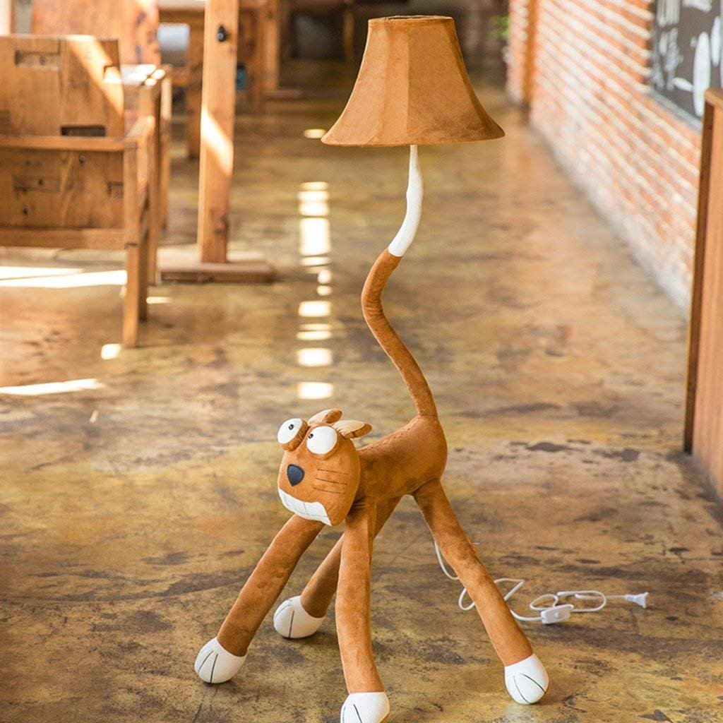CN Stehleuchte Kreative Stehleuchte Cartoon Fixture Fixture Fixture Große Augen Katze Stehlampe Wohnzimmer Schlafzimmer Stehlampe Kinder 'S Zimmer Nachttischlampe B07JLDS2HG   Up-to-date Styling  645ebe