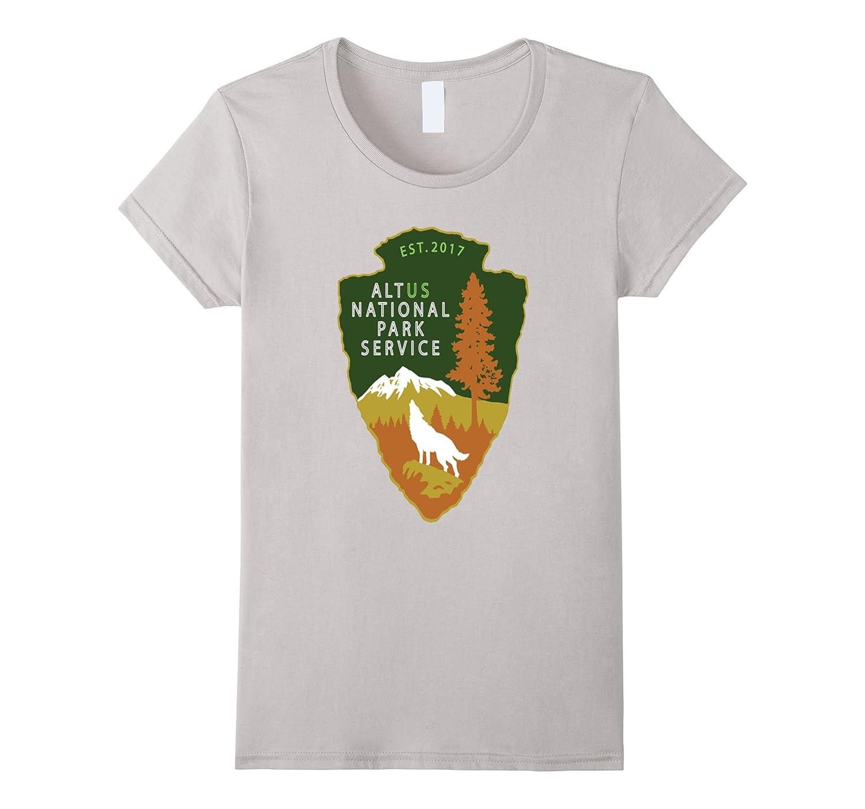 Alt Us Nationally Park Service 2017 Tshirt National Park Tee