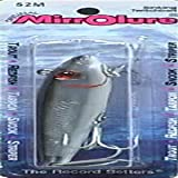 """L&S Bait MirrOlure Classic 52M Series 3-5/8"""" - Black Back/White Belly"""
