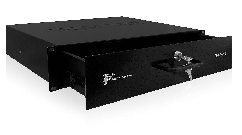 Technical Pro drw2u Rack-Mountable 2U Drawer DRW-2U