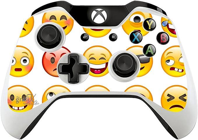 Emoji Gamepad XBOX ONE Mando a distancia/Skin/Cover/Vinilo xb1r42: Amazon.es: Hogar