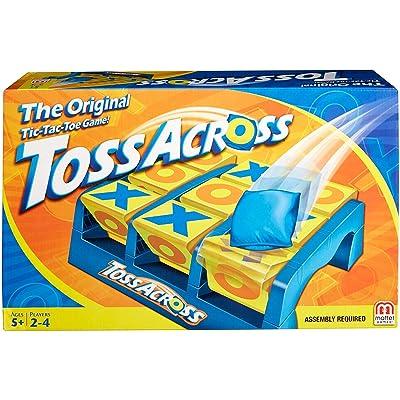 Mattel Games Toss Across Game: The Original Tic-Tac-Toe Game: Toys & Games
