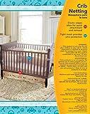 Nuby Universal Size Crib Mosquito Net, White