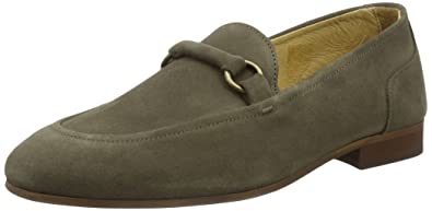 Hudson Mens Renzo Loafers Grey (Taupe) 8 UK