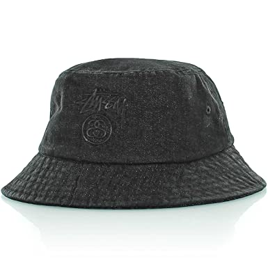 559c19a1d5d Stussy Stock Lock Denim Bucket Hat