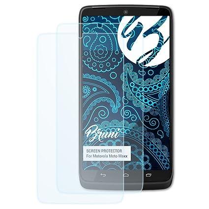 Bruni Película Protectora para Motorola Moto Maxx/Droid Turbo Protector Película - 2 x Claro