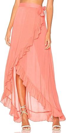 L-Peach Falda Pareo para Bañador Bikini Cover Up para Playa Talla ...