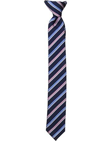 31f491c9166b Dockers Big Boys' Striped Clip On Tie