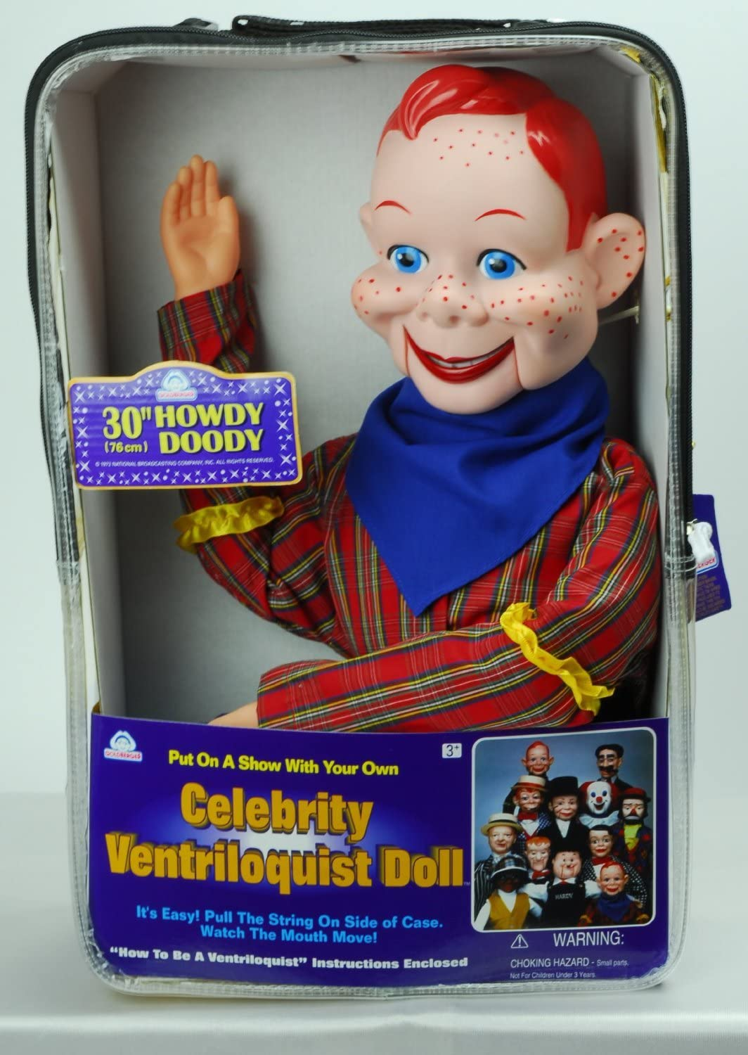 Howdy Doody Dummy Star Of Howdy Doody Tv Show, Celebrity Ventriloquist Doll