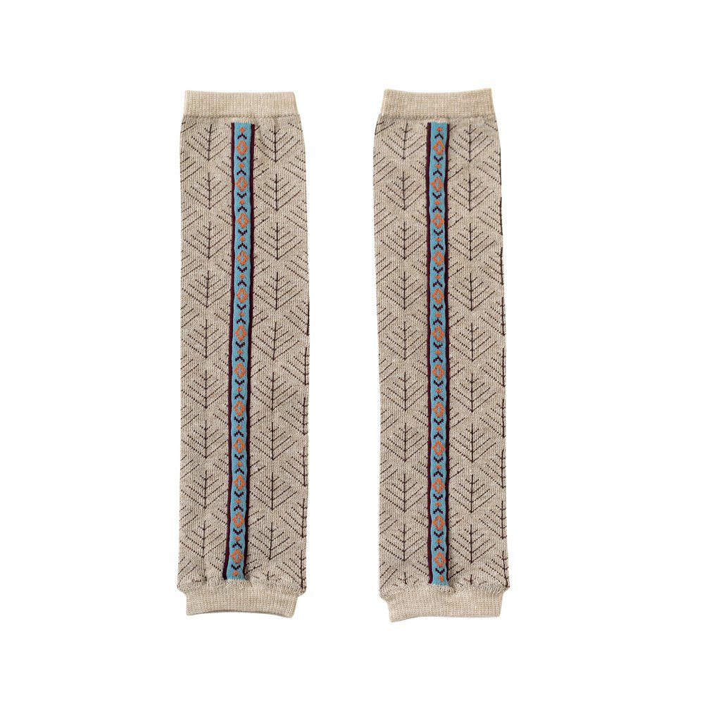 BOBO Leg warmers for Baby F Salt & Pepper Beige 85700 by Unknown
