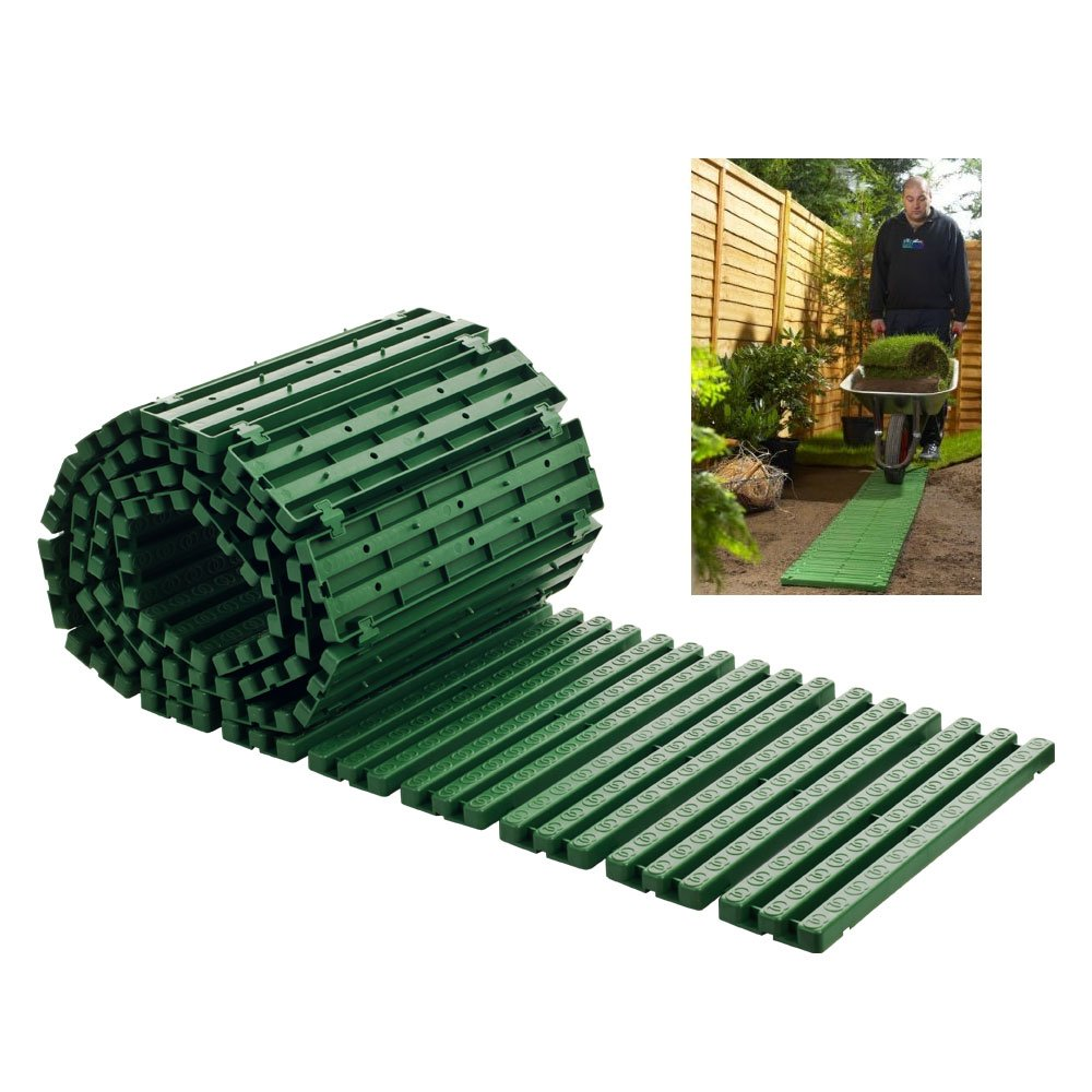 Trademark Global TGT Roll-Out Instant Pathway/Garden Edging 82-YJ434
