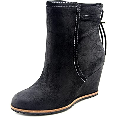 Dr. Scholl's Women's Ireland - Original Collection Black Oil Suede Boot ...