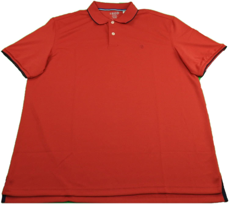 IZOD Mens Performance Wicking Sun Control Polo Shirt