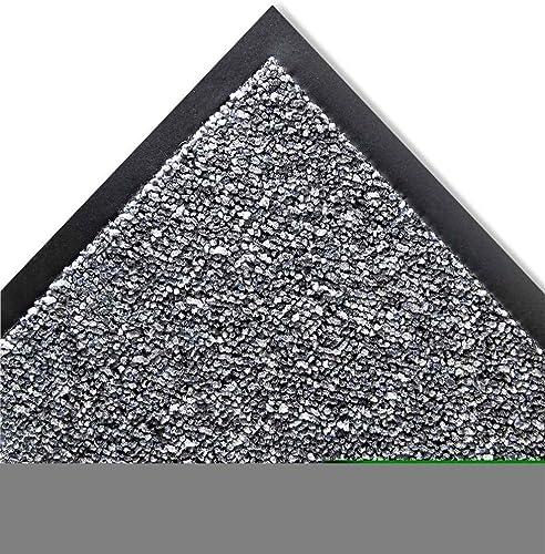 Crown Cordless Stat-Zap Carpet Top Mat, Polypropylene, 36 by 60, Pewter SPNC35PE