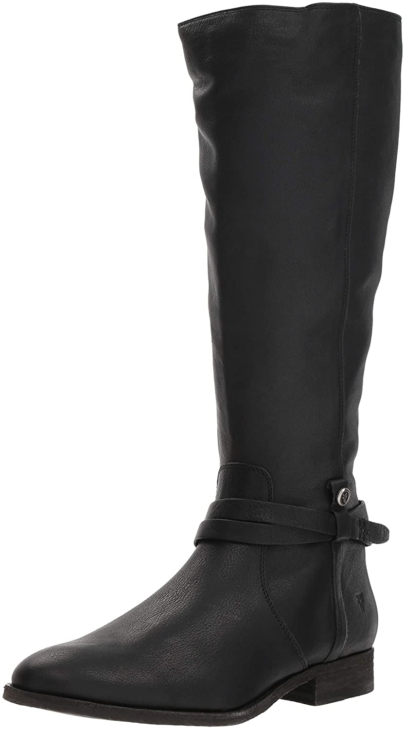 14fe2eca613b7 Amazon.com: FRYE Women's Melissa Belted Tall Knee High Boot: Shoes