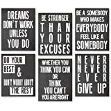 Inspirational Wall Art Poster Prints Quote Positive Affirmation Motivational Wall Art Quotes Pictures fun Office Wall Decor A