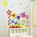 Vovotrade Papillon New Flower amovible vinyle Decal Art Mural Home Decor