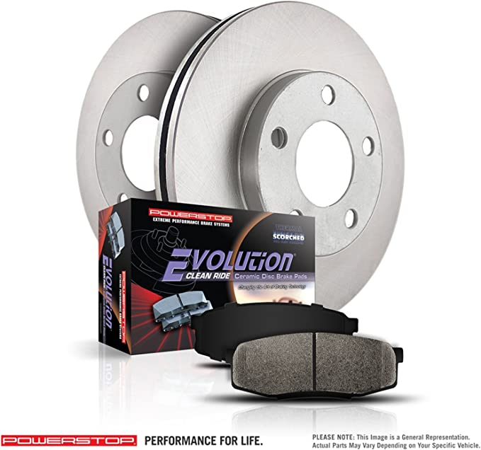 Power Stop EBR1656 Autospecailty Stock Replacement Front Stock Replacement Brake Rotor