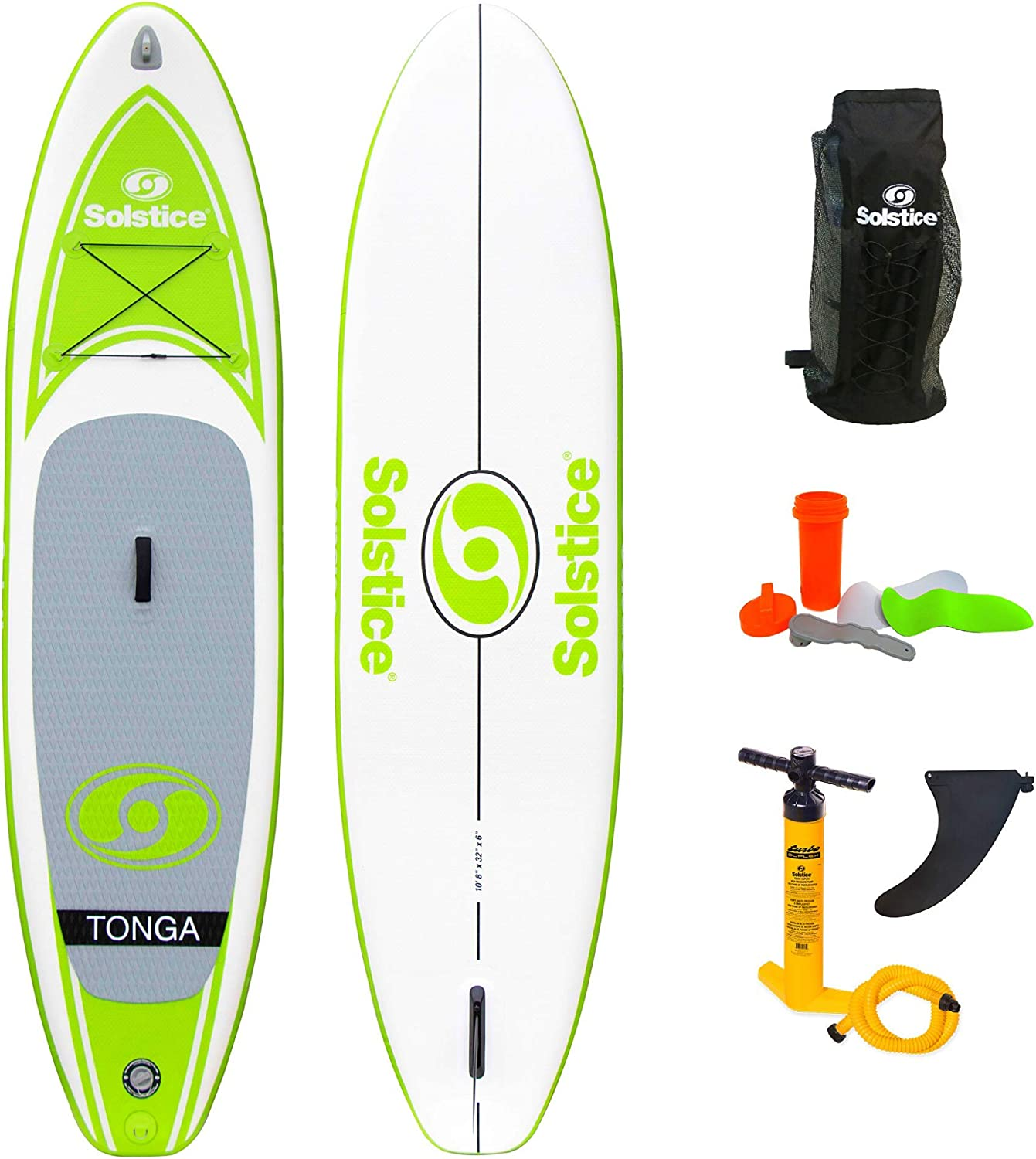 Amazon.com : Solstice by Swimline Tonga Inflatable Stand Up Paddleboard :  Sports & Outdoors
