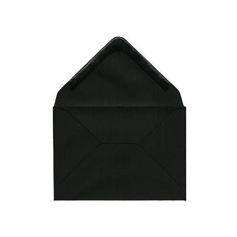 /Id/éal pour les mariages 120/g//m/² Enveloppes A4 Noir//dor/é les remises de dipl/ômes cartons dinvitation danniversaire/ /120/g//m/² 50/pi/èces dinvitation enveloppes/