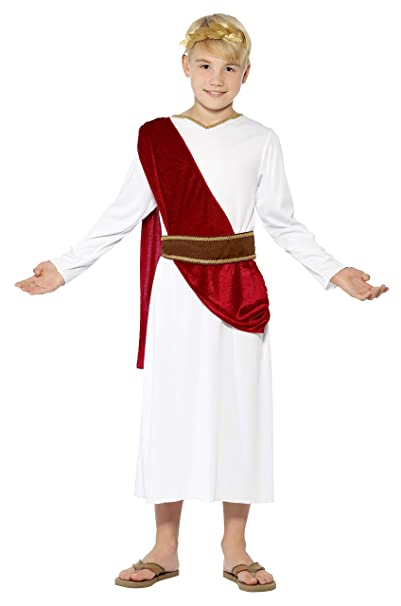 Amazon.com: Smiffys - Disfraz de niño romano: Toys & Games